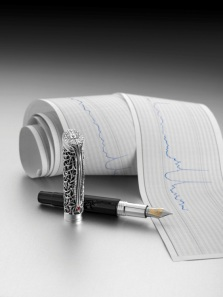 Montegrappa Brain pen - an extension of our emotional responses.